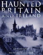 The Cover of Richard's Book Haunted Britain and Ireland.