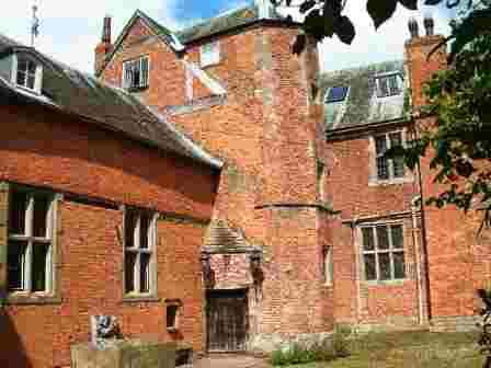 Hellens a haunted house in Britain.