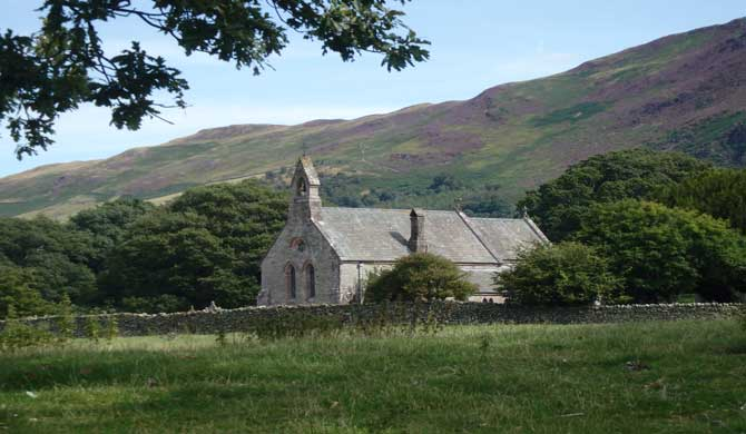 A church in the Lake District.